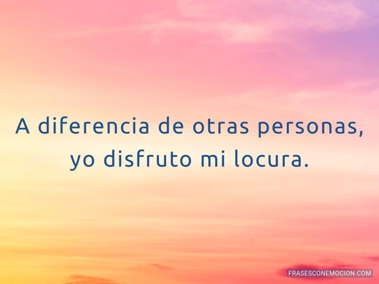 A diferencia...