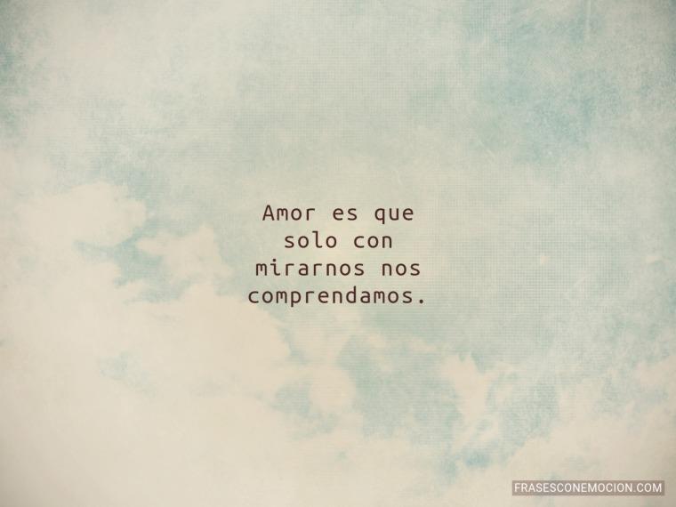 Amor es que solo...