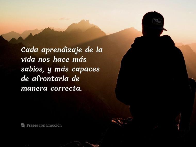 Cada aprendizaje de la vida...