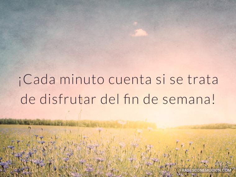 Cada minuto cuenta...