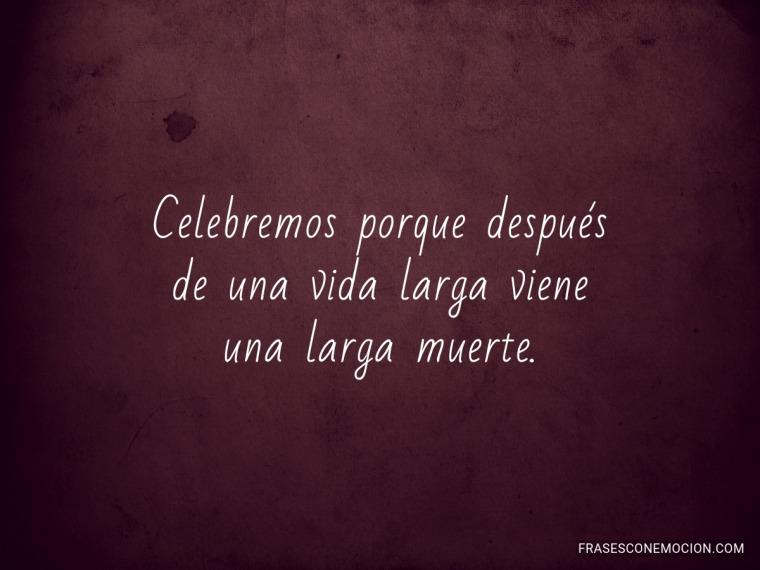 Celebremos porque...