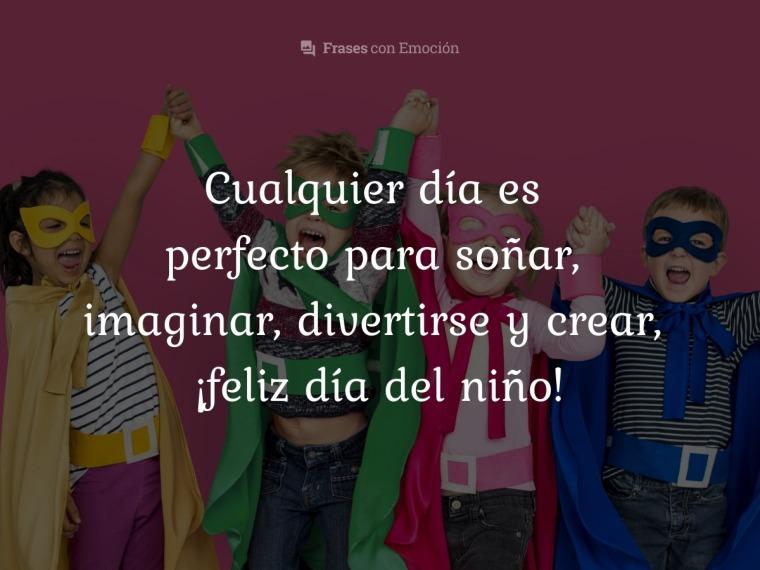 Cualquier día es perfecto para...