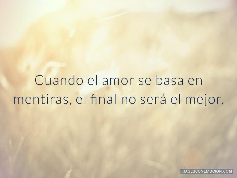 Cuando el amor se...