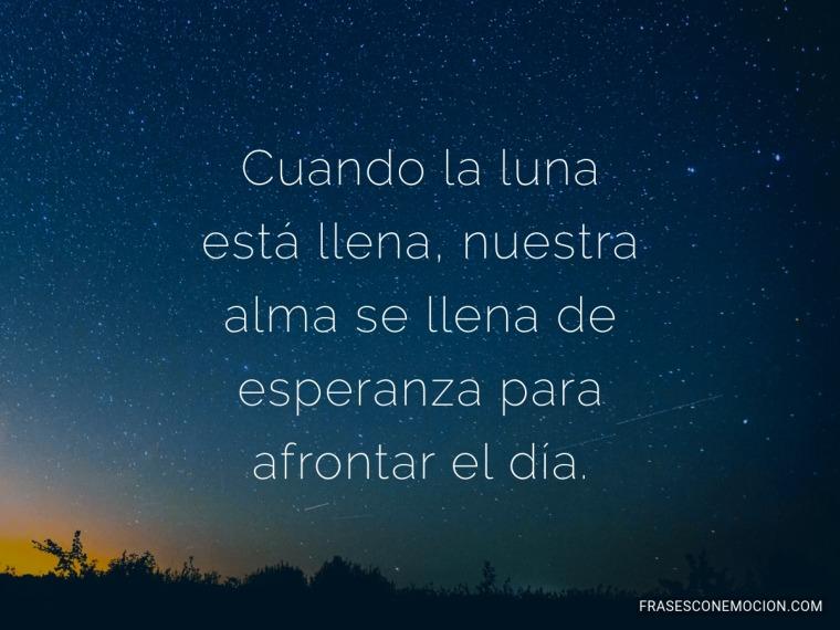 Cuando la luna...