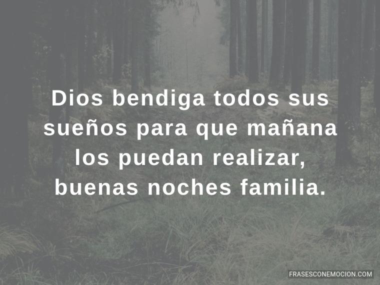 Dios bendiga todos sus sueños...