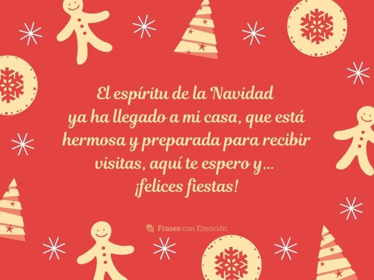 El espíritu de la Navidad...