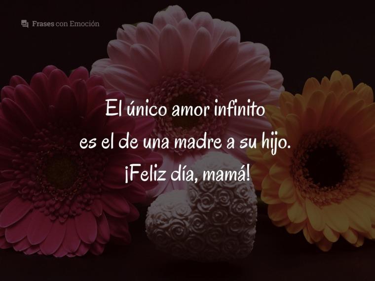 El único amor infinito...