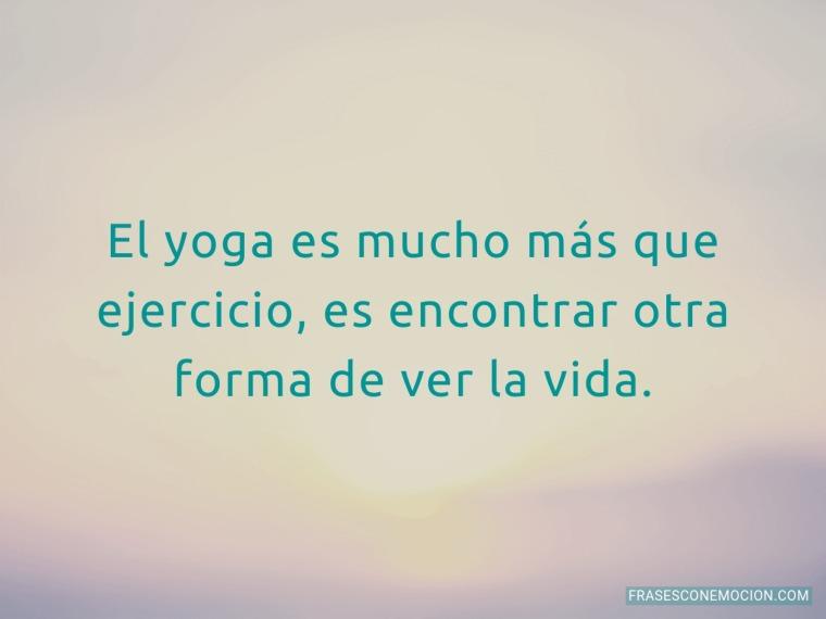 El yoga es mucho más...