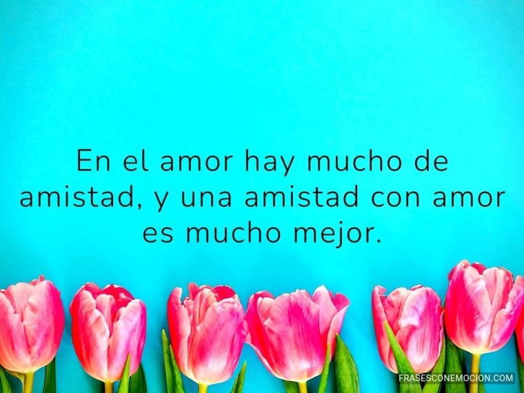 En el amor hay mucho de...
