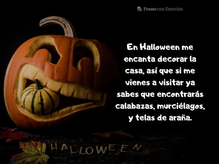 En Halloween me encanta...