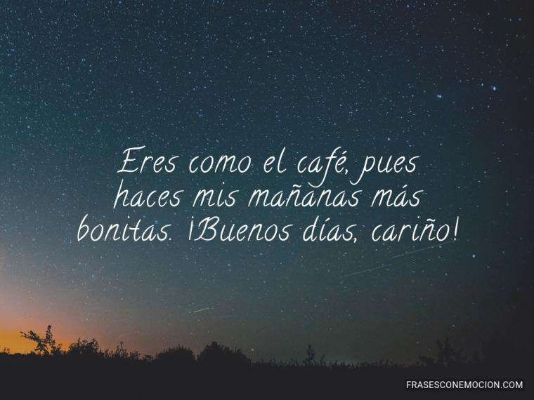 Eres como el café...