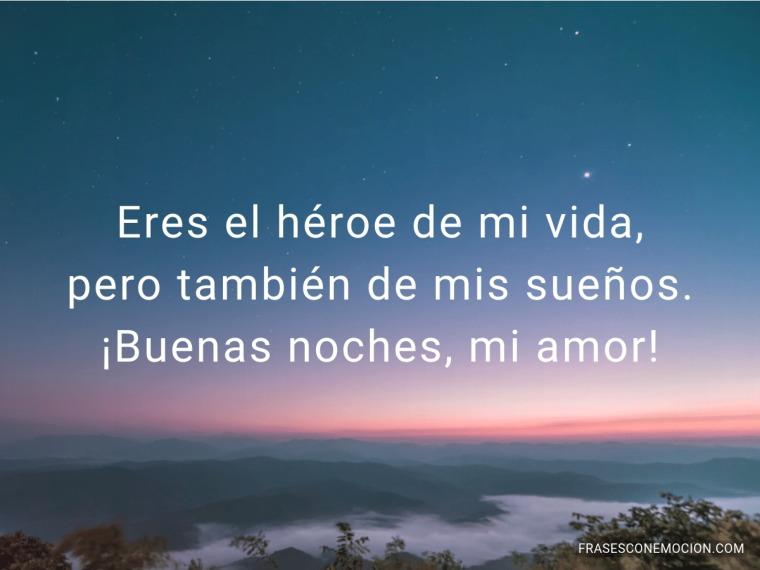 Eres el héroe de mi...
