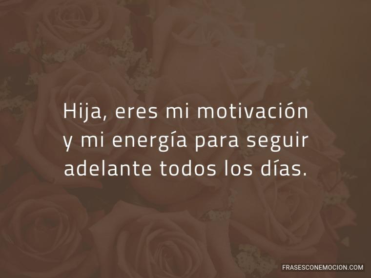 Eres mi motivación...