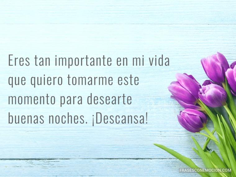 Eres tan importante...