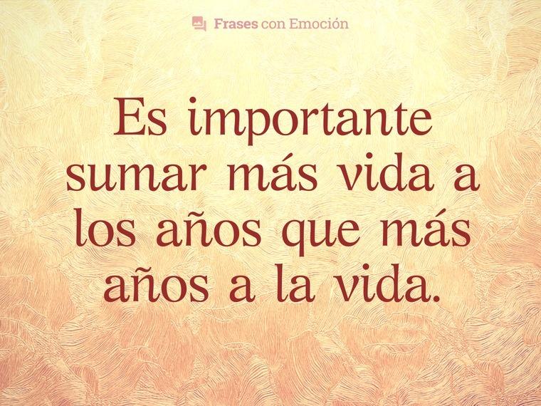 Es importante...