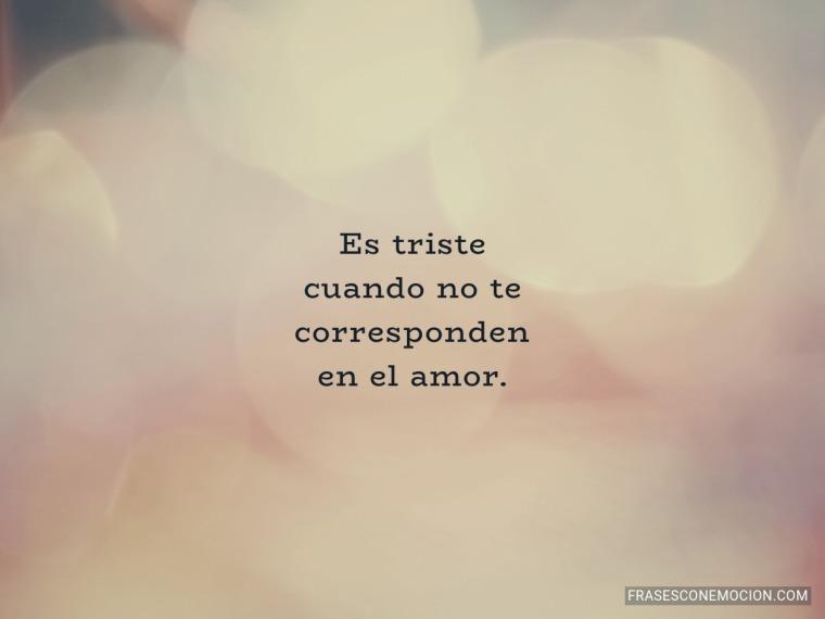 Es triste cuando...
