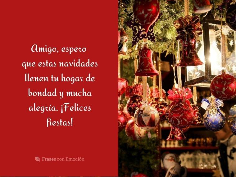 Espero que estas navidades...