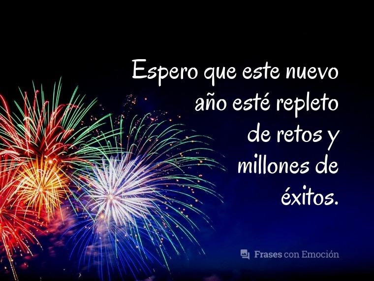 Espero que este nuevo año...