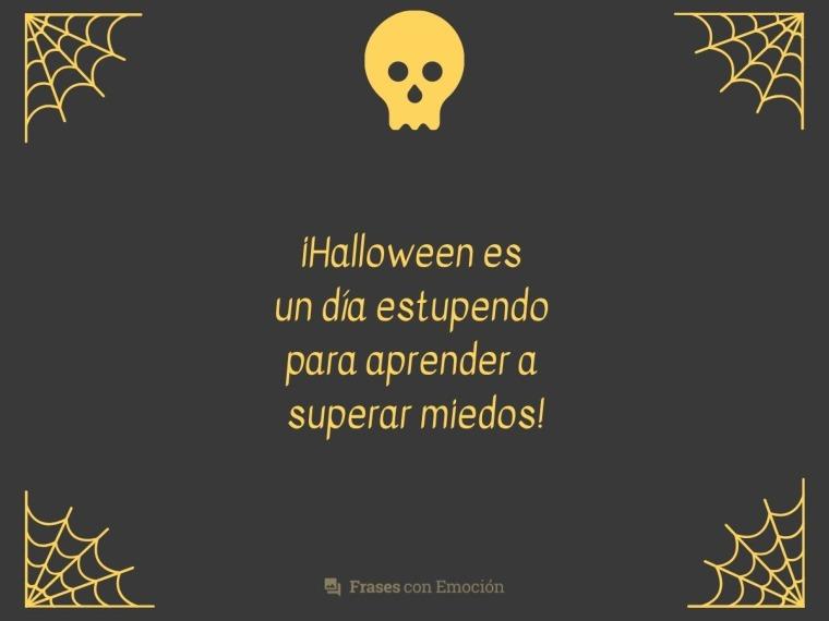 Halloween es un día estupendo...
