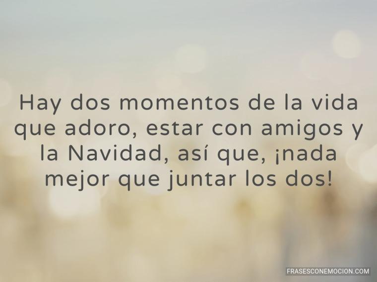Hay dos momentos de la vida...