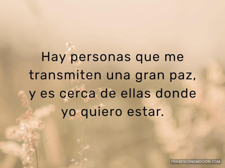 Hay personas que me...