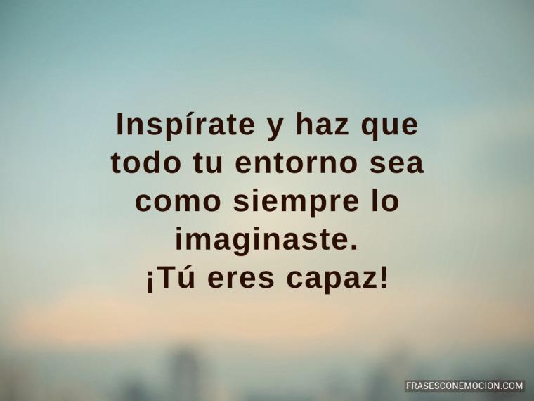 Inspírate...