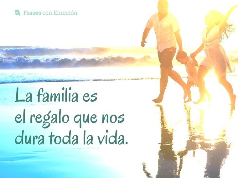 La familia es el regalo...