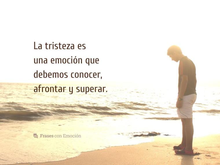 La tristeza es una emoción que...