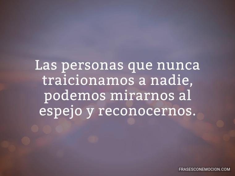 Las personas que nunca...