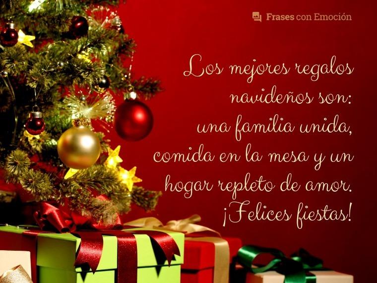 Los mejores regalos navideños son...