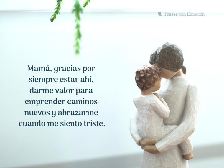 Mamá, gracias por...