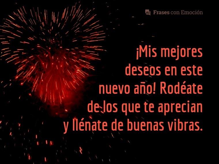 Mis mejores deseos...