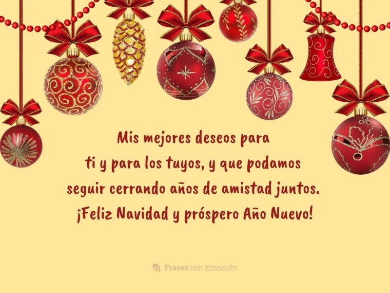Mis mejores deseos para ti...