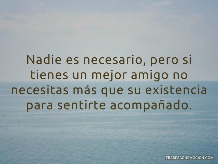 Nadie es necesario...