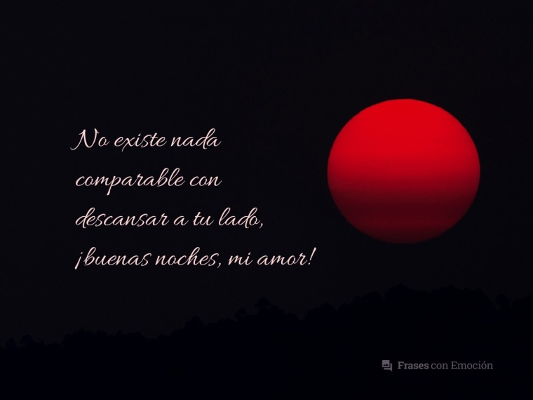 No existe nada comparable...