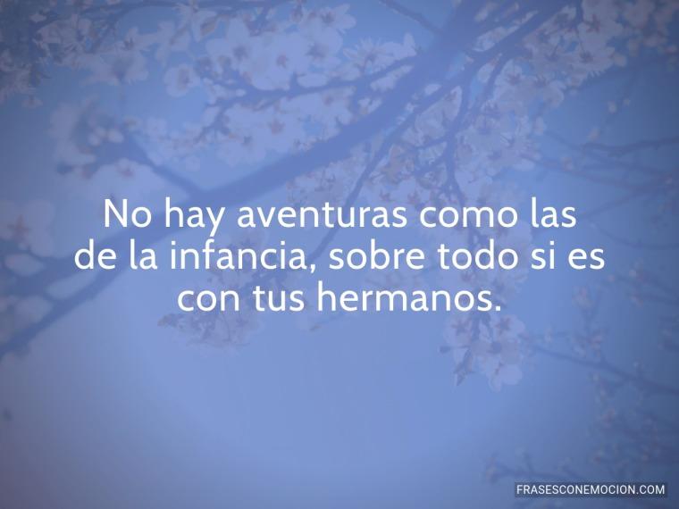 No hay aventuras...
