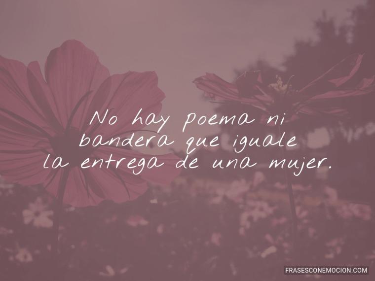 No hay poema ni...