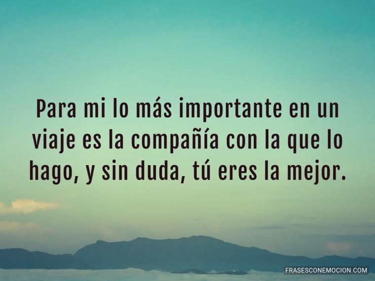 Para mi lo más importante...
