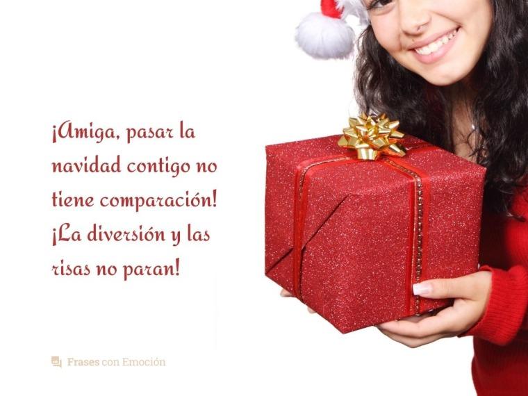 Pasar la navidad contigo...