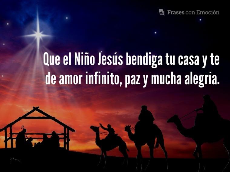 Que el Niño Jesús...