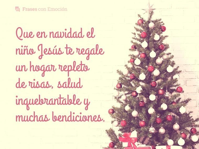 Que en navidad el niño Jesús...