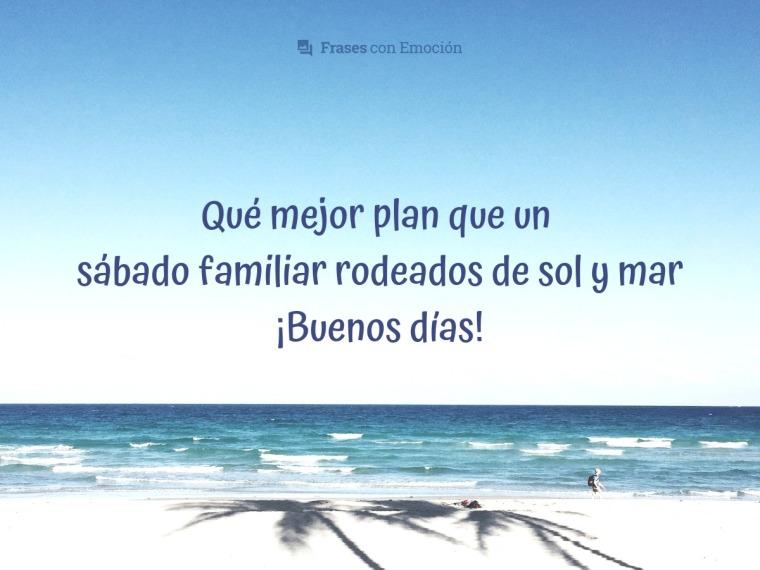Qué mejor plan...