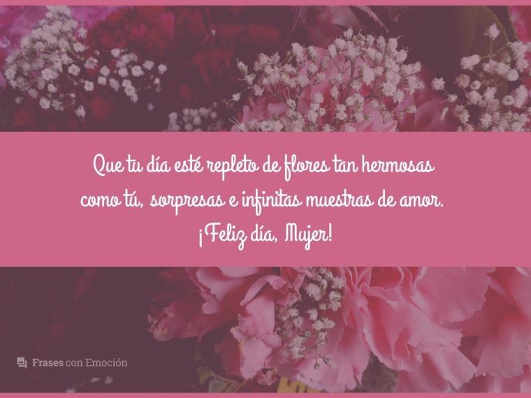 Que tu día esté repleto de flores...