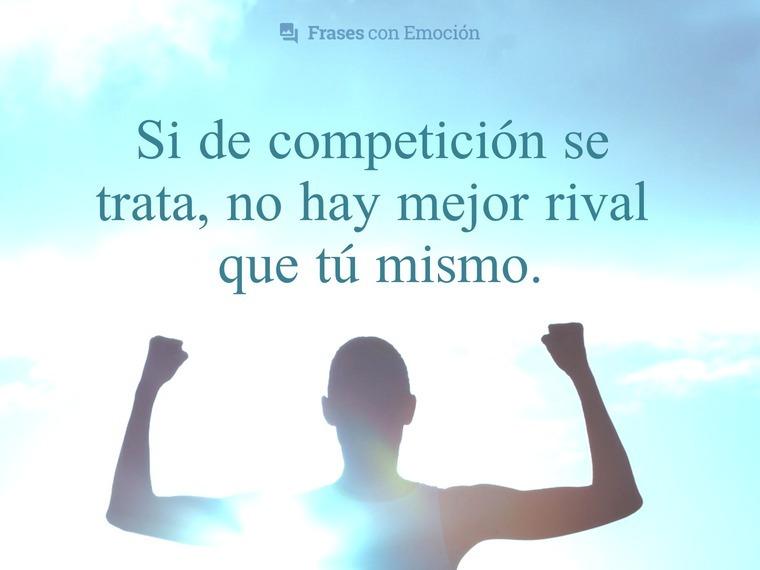 Si de competición se trata...