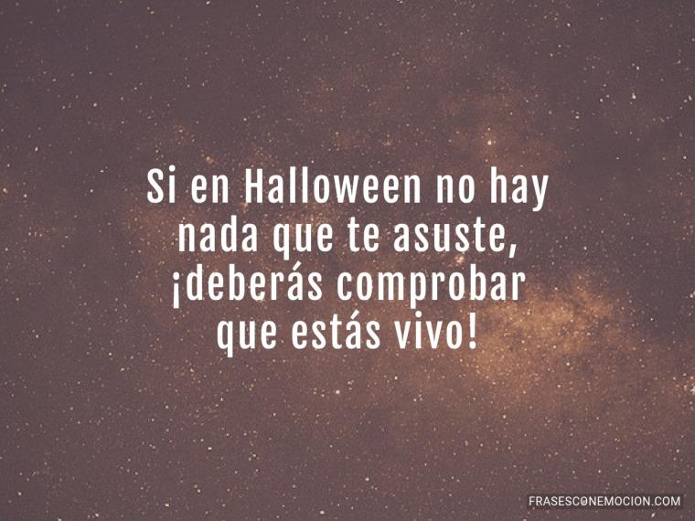 Si en Halloween no hay...