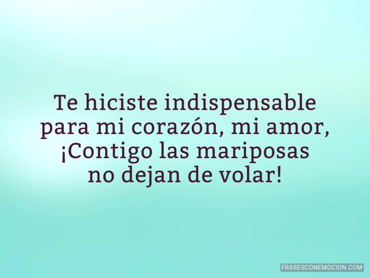 Te hiciste indispensable...