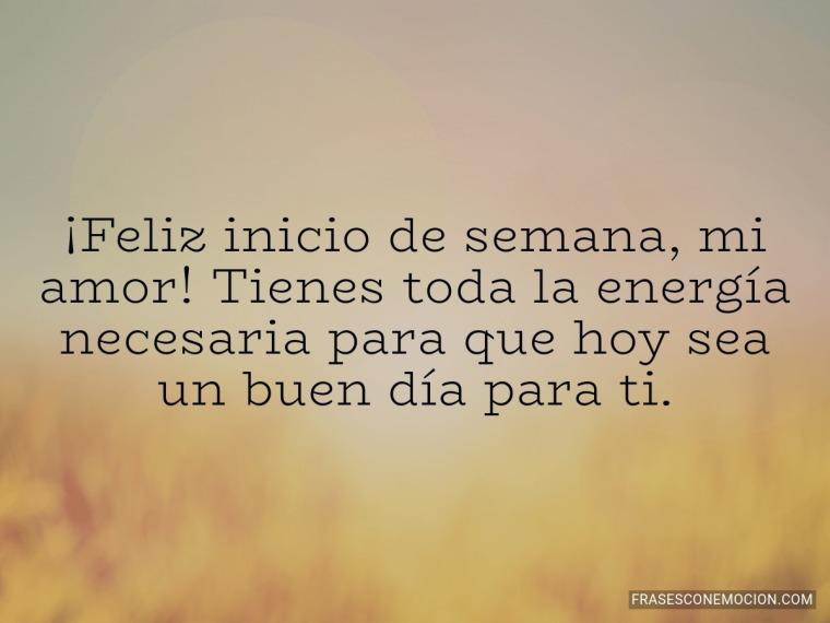 Tienes toda la energía necesaria...