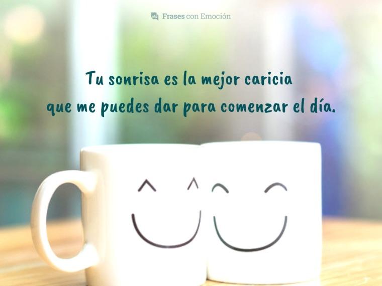 Tu sonrisa es...