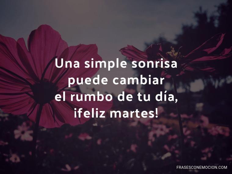 Una simple sonrisa...