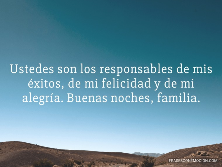 Ustedes son los responsables de...